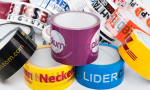 adhesive tapes with logo